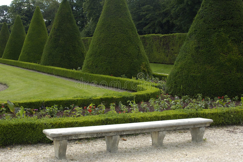 Download French formal garden stock image. Image of garden, destination - 12306075