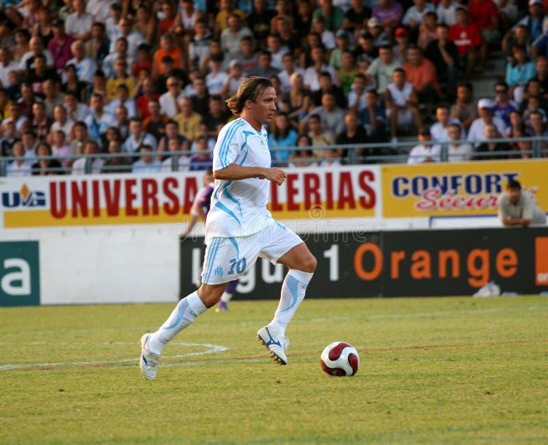 French Friendly Soccer Match OM Vs TFC Editorial Stock Photo