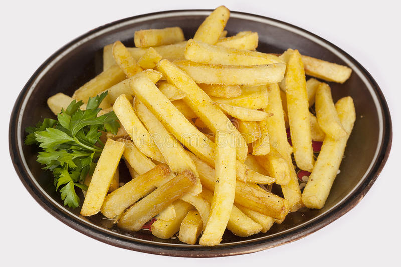 Download French fries stock photo. Image of dish, background, fried - 25169080