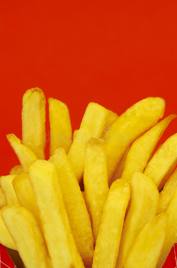 French fries royalty free stock images