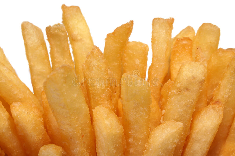 Download French Fries Isolated On White Stock Photo - Image: 5829218