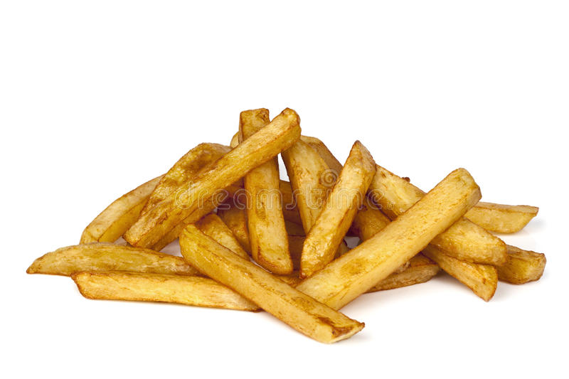 French Fries  On White Royalty Free Stock Image