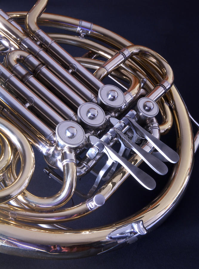 Download French Horn Close Up stock image. Image of orchestra - 19695821