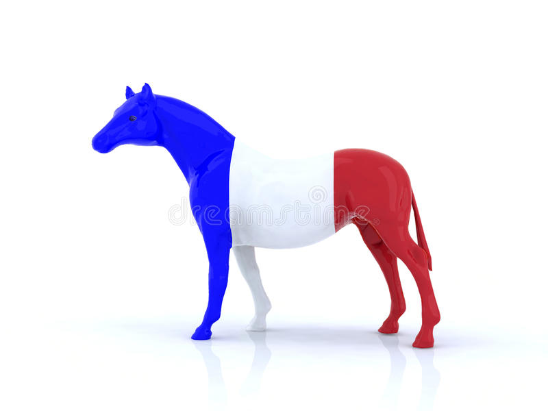 The French Horse Stock Photography