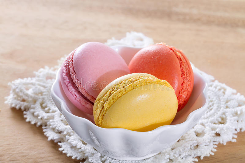 French macarons royalty free stock images