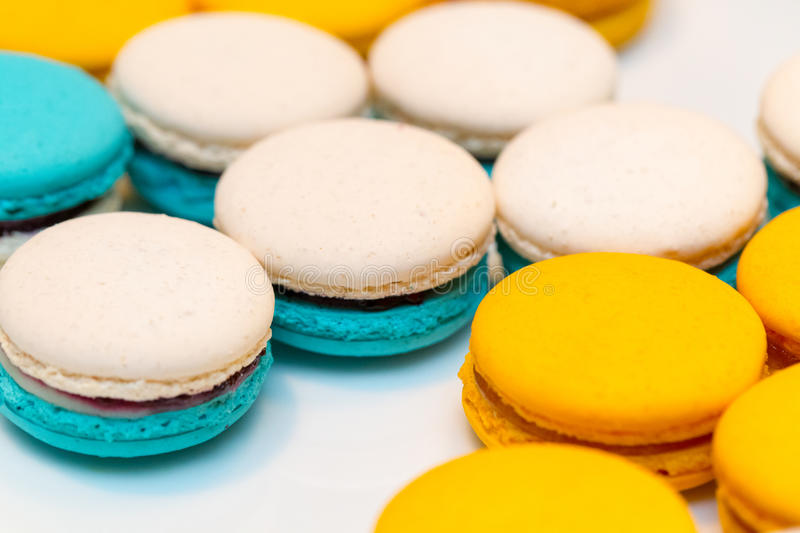 French macaroons royalty free stock photography