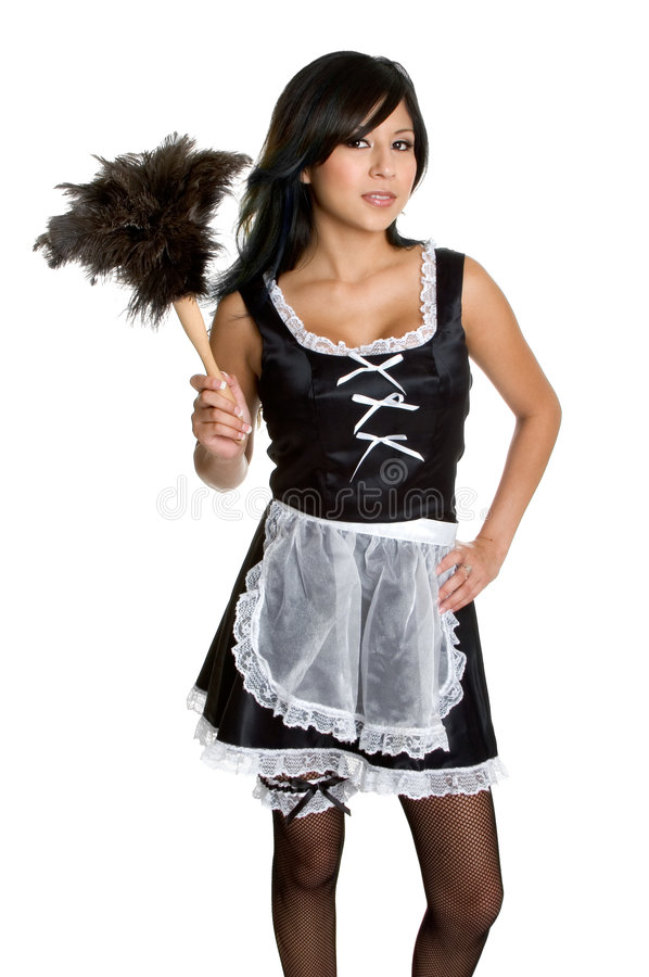 Download French Maid stock photo. Image of apron, french, white - 5489376