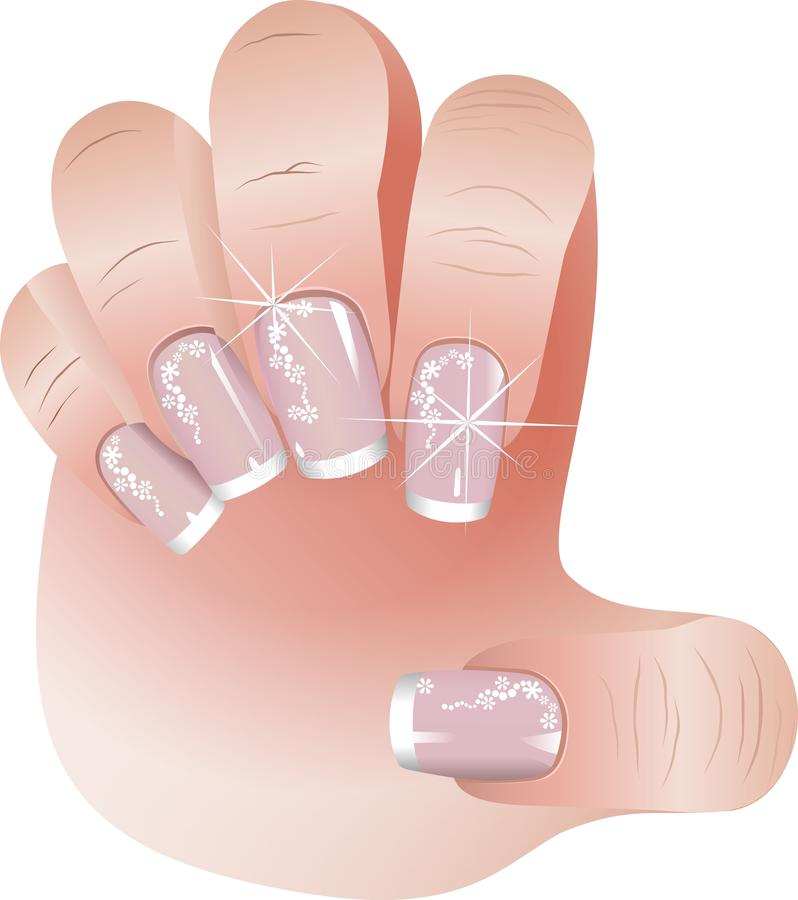 Download French Manicure Banners Set Stock Illustration - Image: 25847706