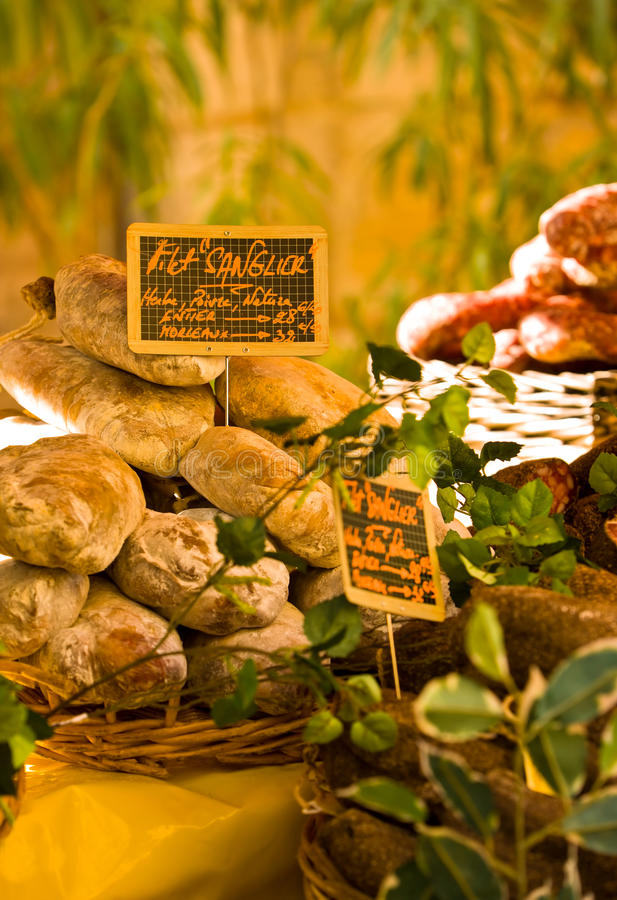 Download French market stall stock image. Image of sunny, dordogne - 22435643