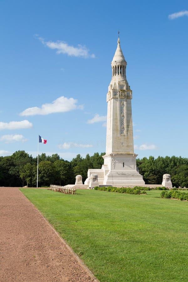 French military cemetery of Notre Dame de Lorette. Notre Dame de Lorette, also known as Ablain St.-Nazaire French Military Cemetery, is the world's largest royalty free stock photo