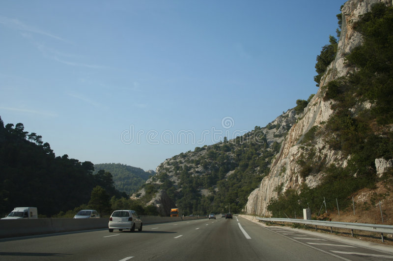 Download French motorway stock image. Image of mountains, rural - 3015865