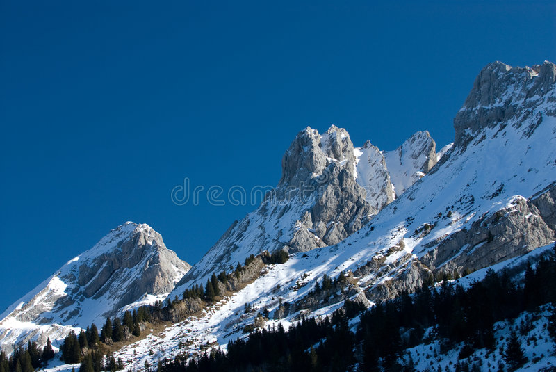 French mountains royalty free stock photos