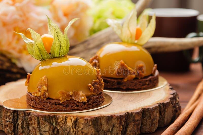 Mousse Cake Decorations Caramel