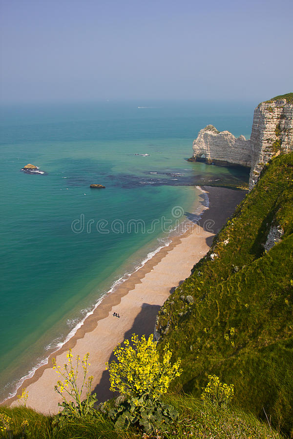 Download French Northern Coast Landscape, Etretat Stock Photo - Image: 26624140