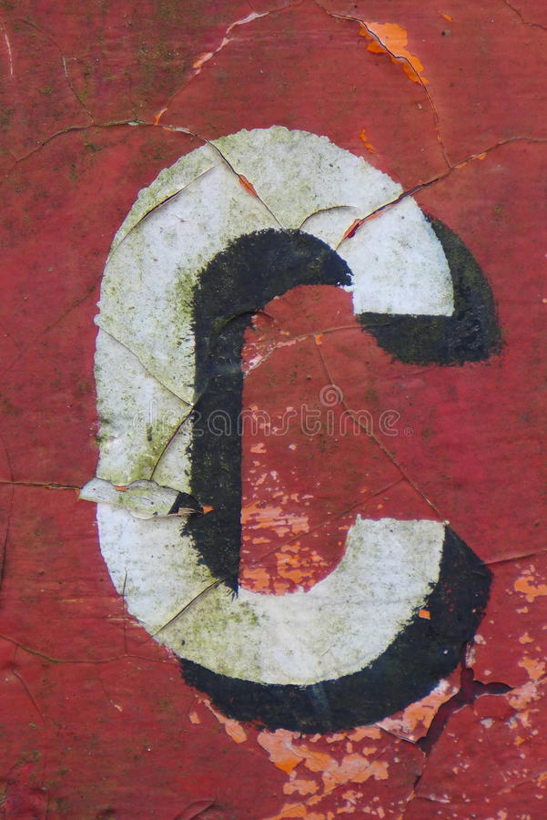 French numbers royalty free stock photo