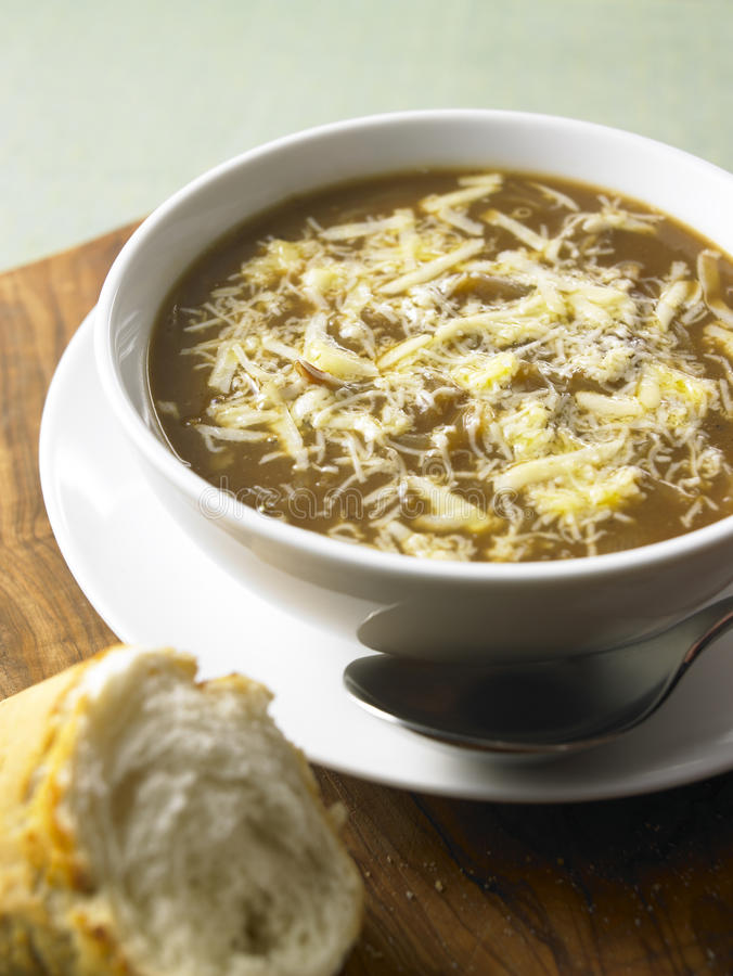 French onion soup royalty free stock images