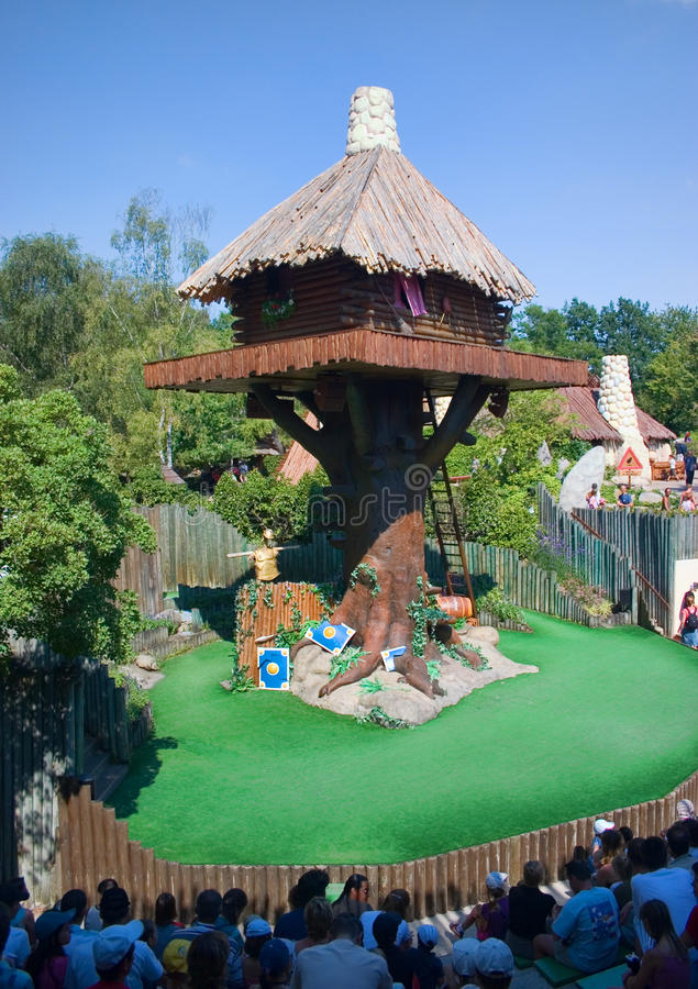 French-Park Asterix-The theater