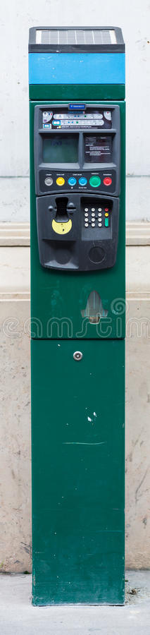 Download French Parking Meter editorial stock photo. Image of paris - 43755943