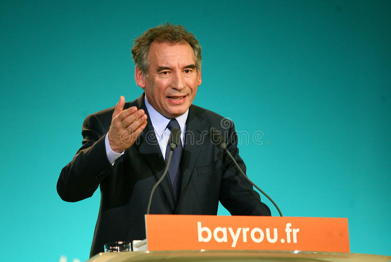 Download French Politician Francois Bayrou Editorial Stock Photo - Image: 24313893