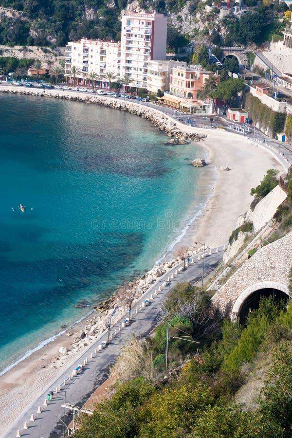 Download French Riviera Coastline Royalty Free Stock Photos - Image: 19555758