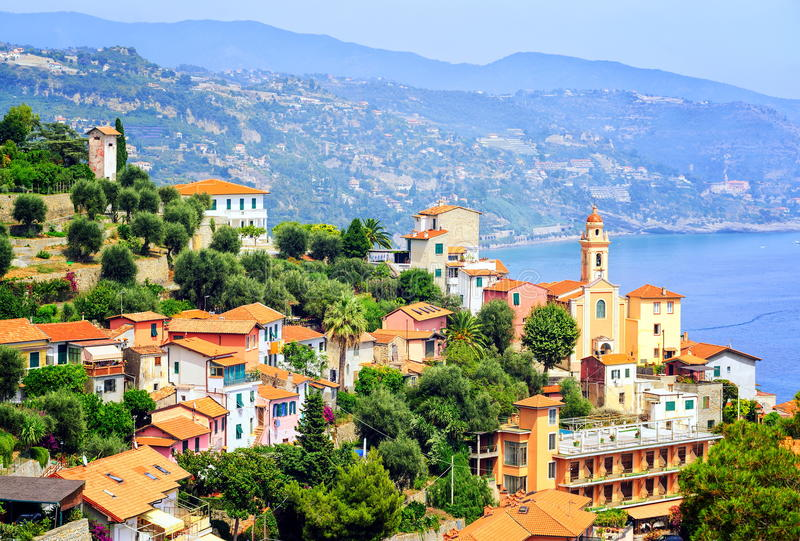 French Riviera, France stock photo