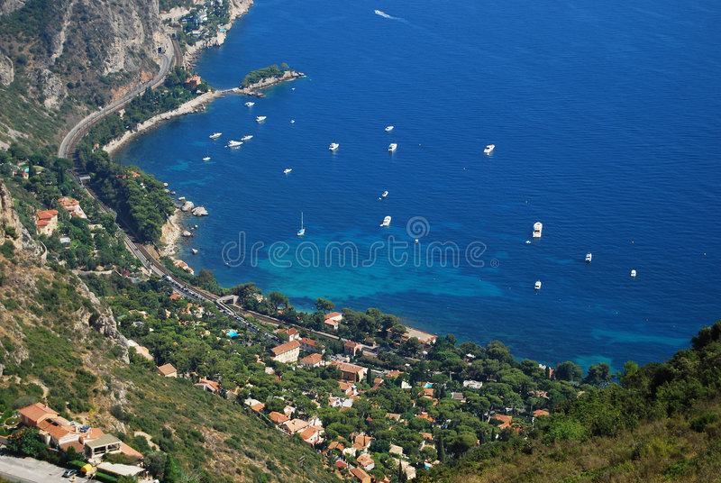 Download French Riviera landscape stock image. Image of riviera - 6503869