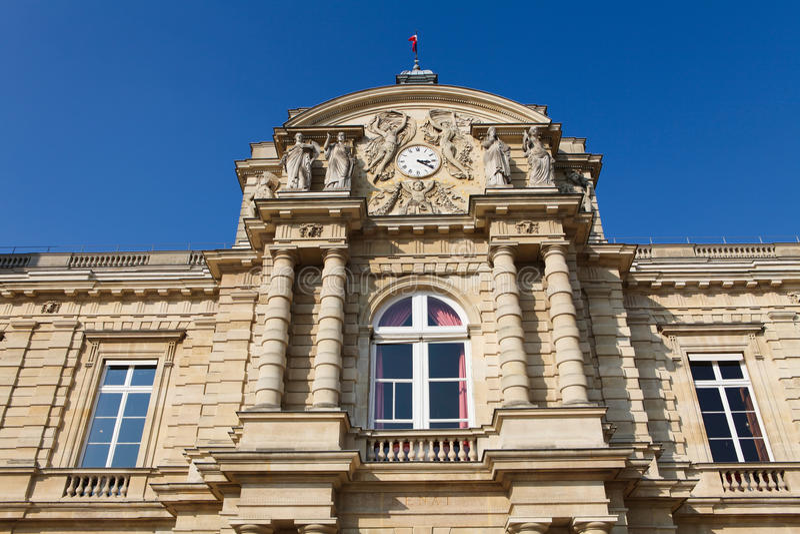 Download French Senate In Paris Royalty Free Stock Photos - Image: 19048108