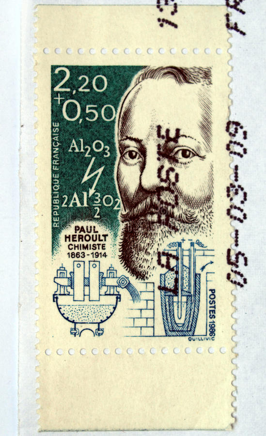 Download French stamp stock image. Image of letter, french, scientist - 10976713