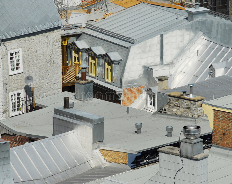 Download French Style Roofs Stock Photography - Image: 3089732