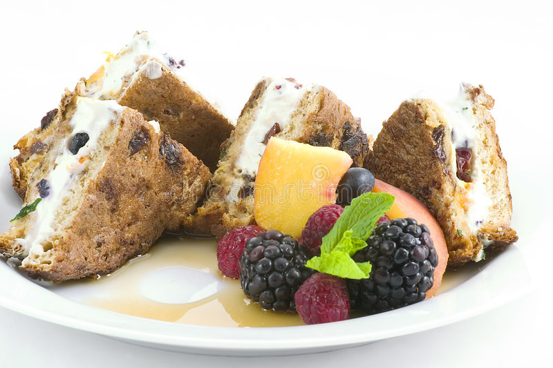 French toast - stuffed royalty free stock images