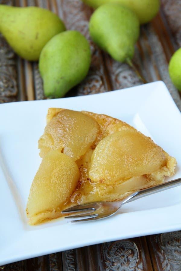 French Traditional Pie Tarte Tatin Stock Photos