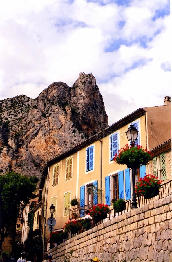 French Village Royalty Free Stock Images