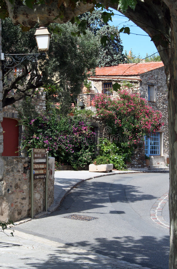 French Village royalty free stock photography