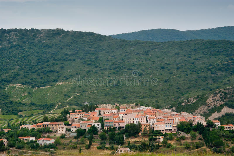 Download French village in Pyrenees stock image. Image of argeles - 20983723