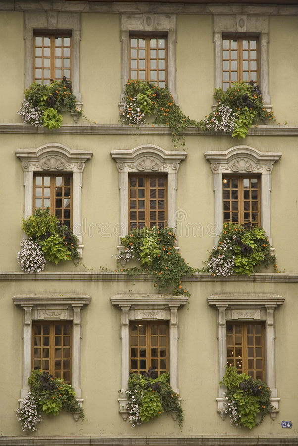 French Windows stock images