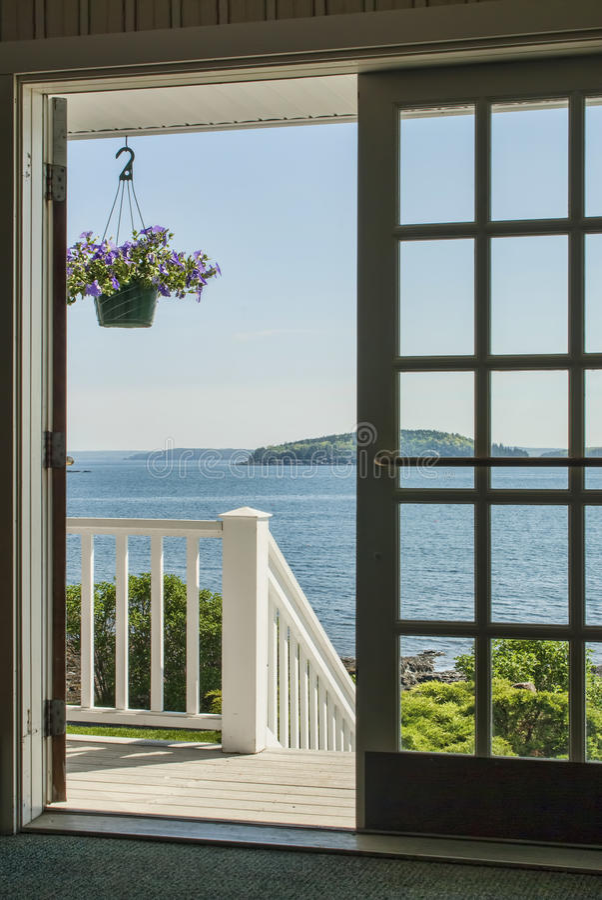 Frenchmans Bay At Bar Harbor Maine Royalty Free Stock Image