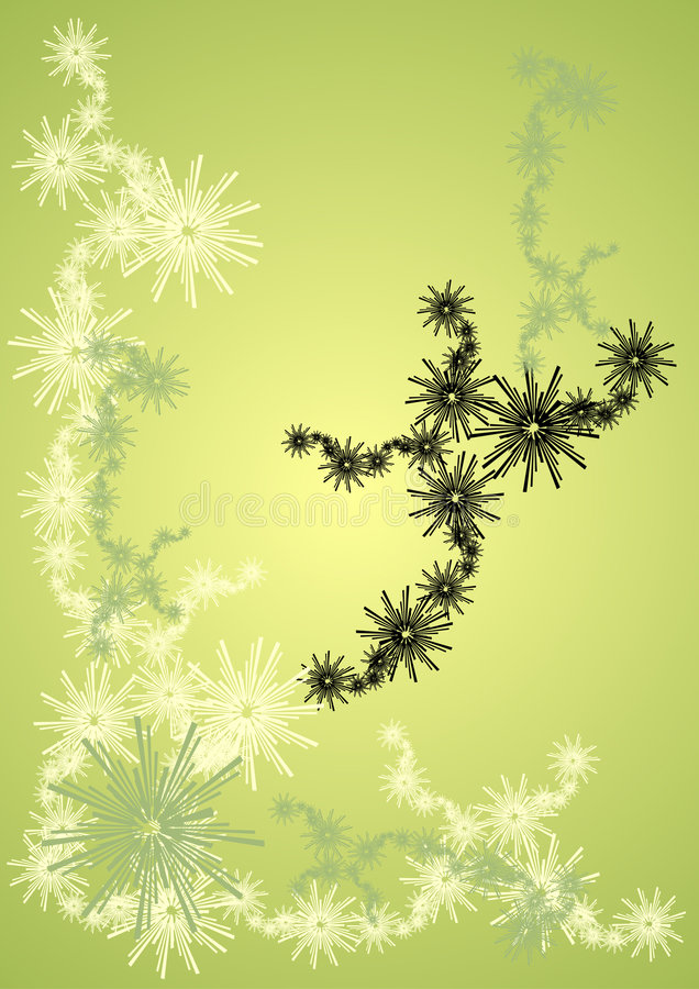 Frenesí de Grunge ilustración del vector