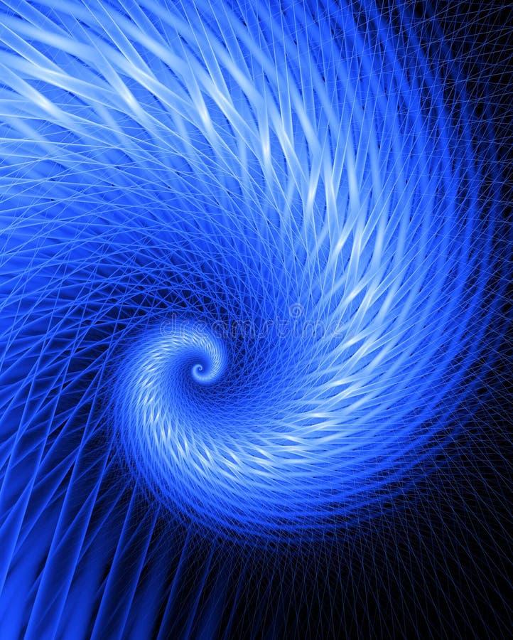 Frenesí del fractal - refresqúese ilustración del vector