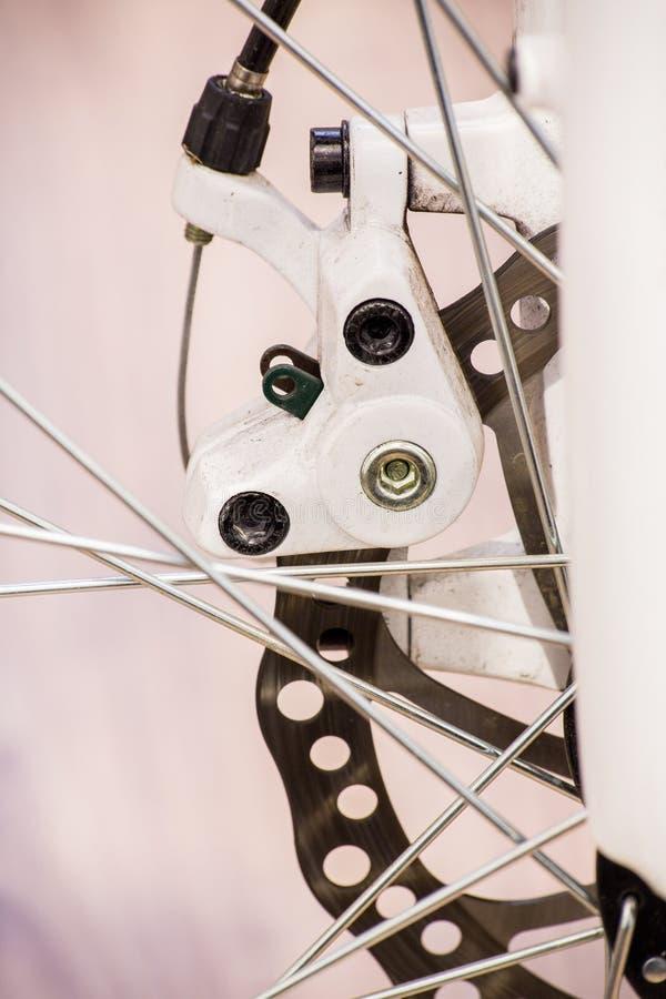 Freno de disco de la bicicleta fotos de archivo