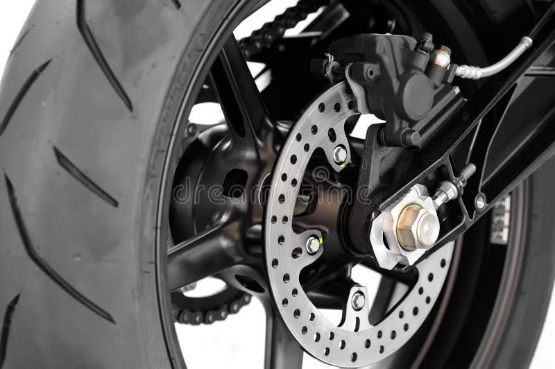 Freno a disco della motocicletta fotografia stock libera da diritti