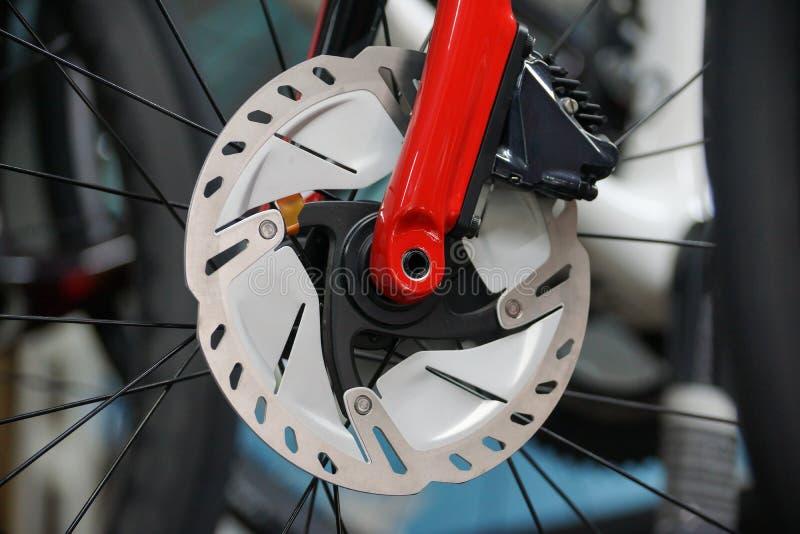 Freno a disco per biciclette stradali fotografie stock libere da diritti