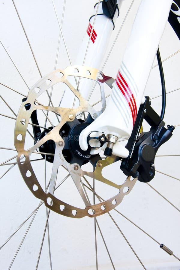 Frenos de la bicicleta fotografía de archivo libre de regalías