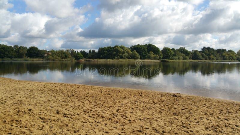 Frensham pond stock photos
