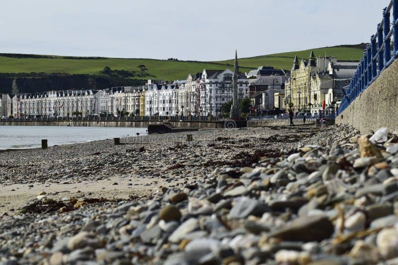 Frente al mar y 'promenade' foto de archivo libre de regalías