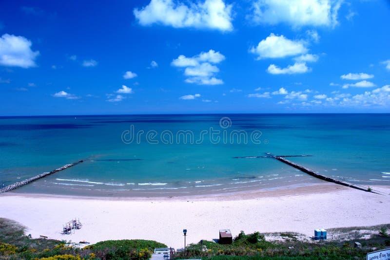 Frente de la playa fotos de archivo