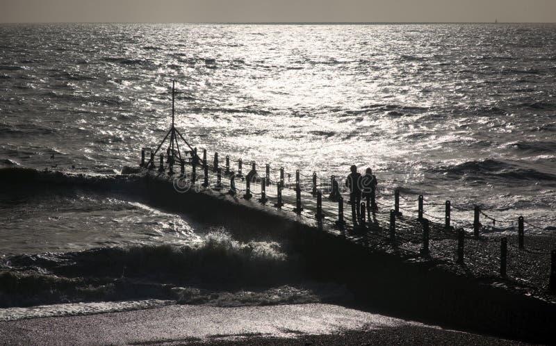 Frente de mar imagenes de archivo
