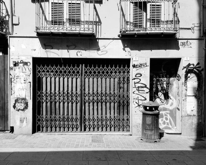 Frente del departamento fotografía de archivo