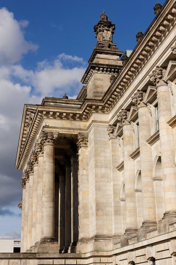 Edificio de Reichstag en Berlín imagenes de archivo