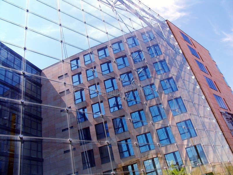Frente del vidrio imagen de archivo
