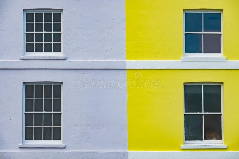 Frente interno colorida foto de archivo libre de regalías